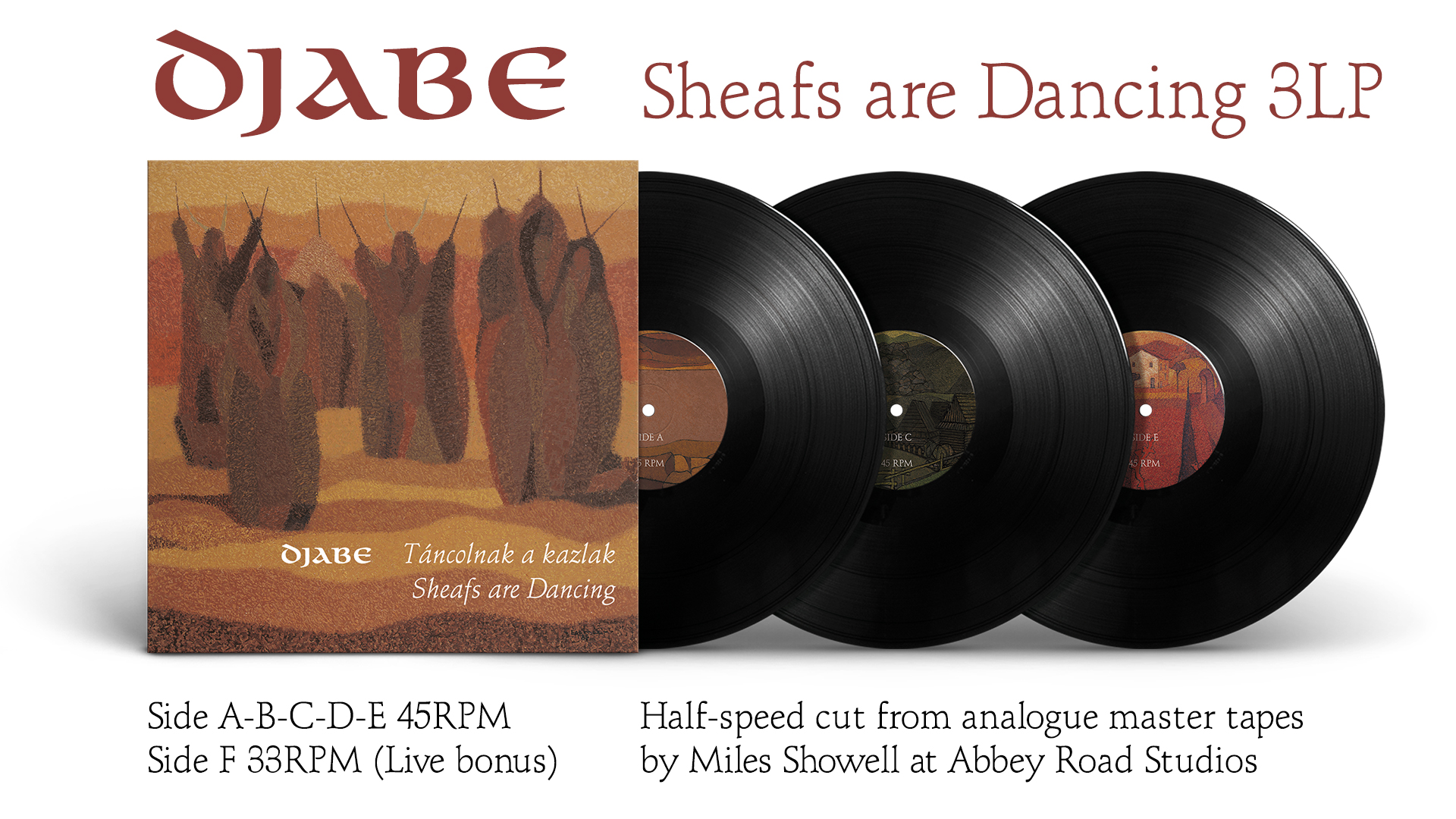 Djabe: Sheafs are Dancing 3LP box