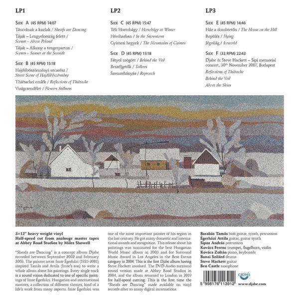Djabe – Táncolnak a Kazlak (3LP) back cover