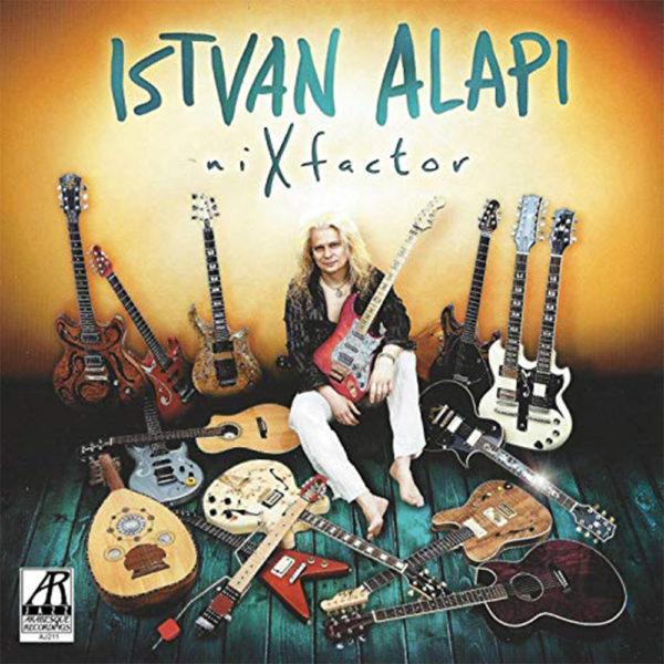 Alapi István – niXfactor (CD) cover