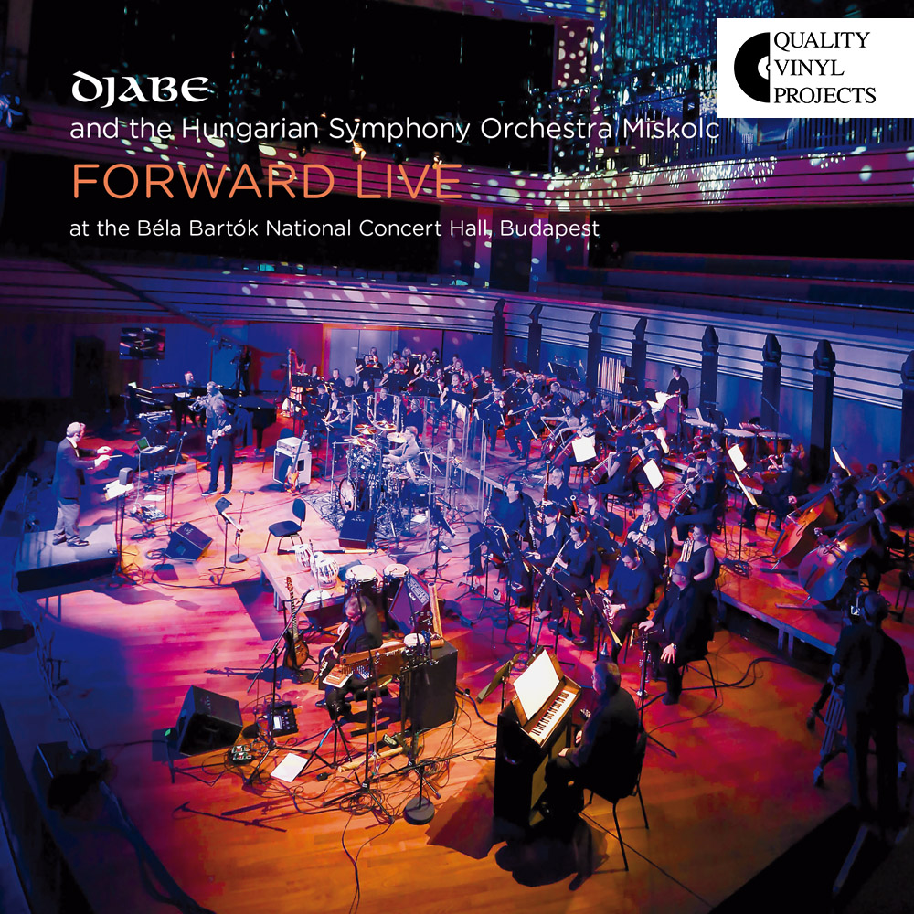 Djabe – Forward Live (2LP) cover