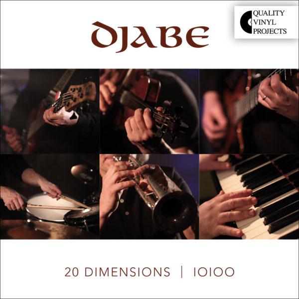 Djabe – 20 Dimensions (2LP+CD) cover