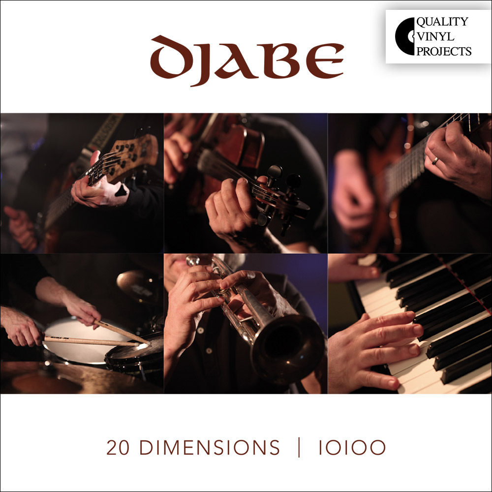 Djabe – 20 Dimensions (2LP+CD) cover