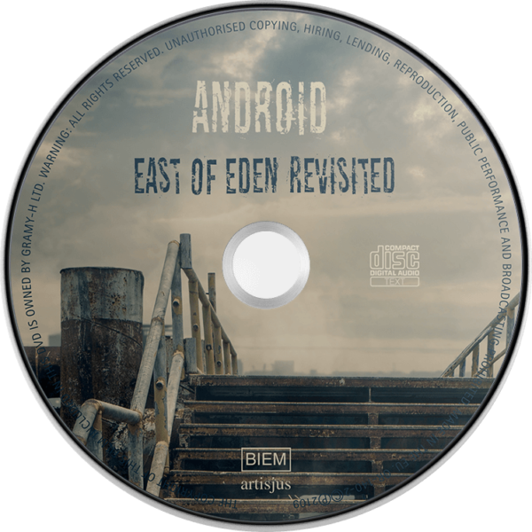 Android – East of Eden Revisited (CD) disc