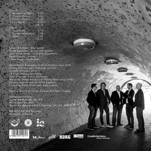 Djabe – New Dimensions Update Live (LP) back cover
