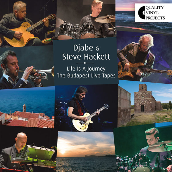 Djabe & Steve Hackett – Life is a Journey The Budapest Tapes (LP) cover
