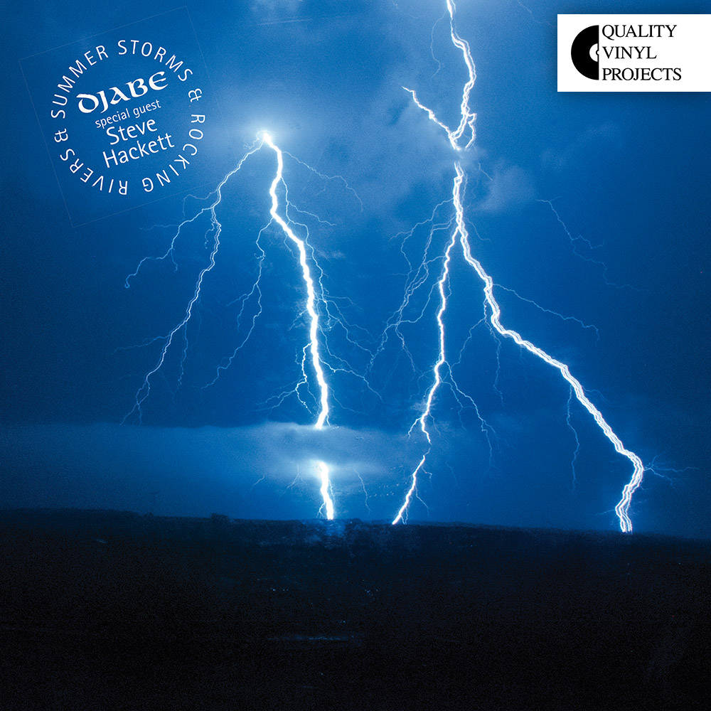 Djabe special guest Steve Hackett – Summer Storms and Rocking Rivers (2LP) cover