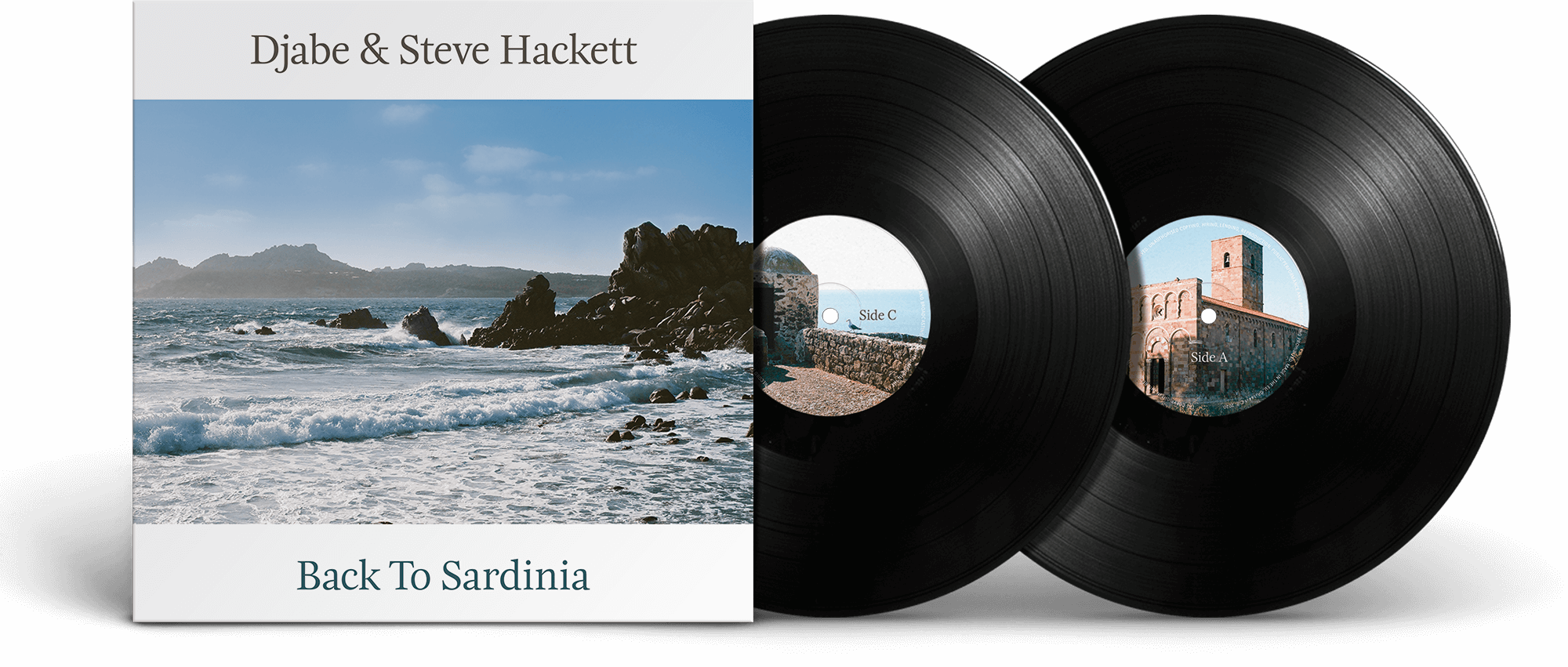 Djabe & Steve Hackett – Back to Sardinia – CD/DVD, 2LP