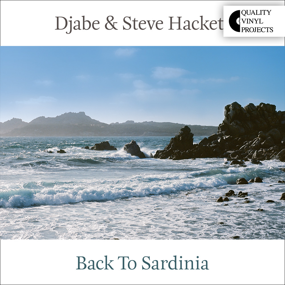 Djabe & Steve Hackett – Back To Sardinia (2LP) cover