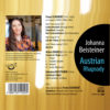 Johanna Beisteiner – Austrian Rhapsody (CD) back cover