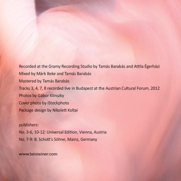 Johanna Beisteiner – Don Quijote (CD) inner 1