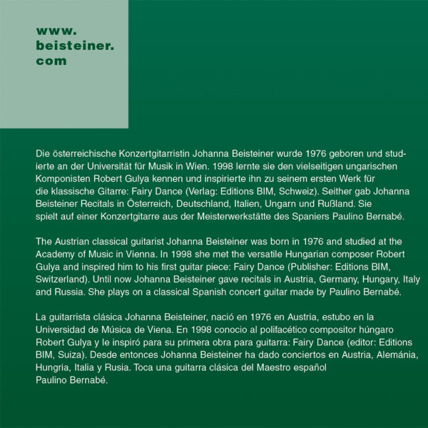 Johanna Beisteiner – Salon (CD) inner 2