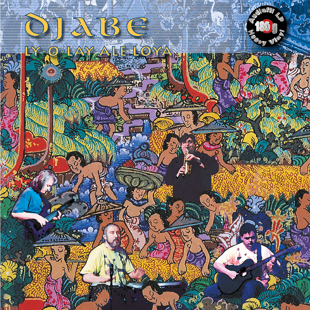 Djabe – Ly-O-Lay Ale Loya (LP) cover