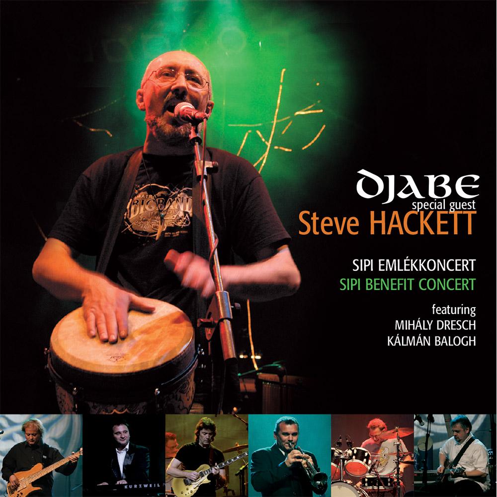 Djabe/Steve Hackett – Sipi emlékkoncert (2CD) cover