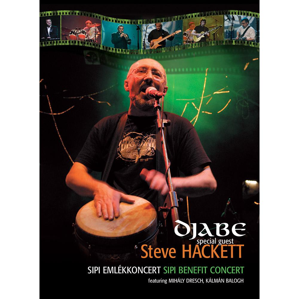 Djabe/Steve Hackett – Sipi emlékkoncert (2DVD) cover