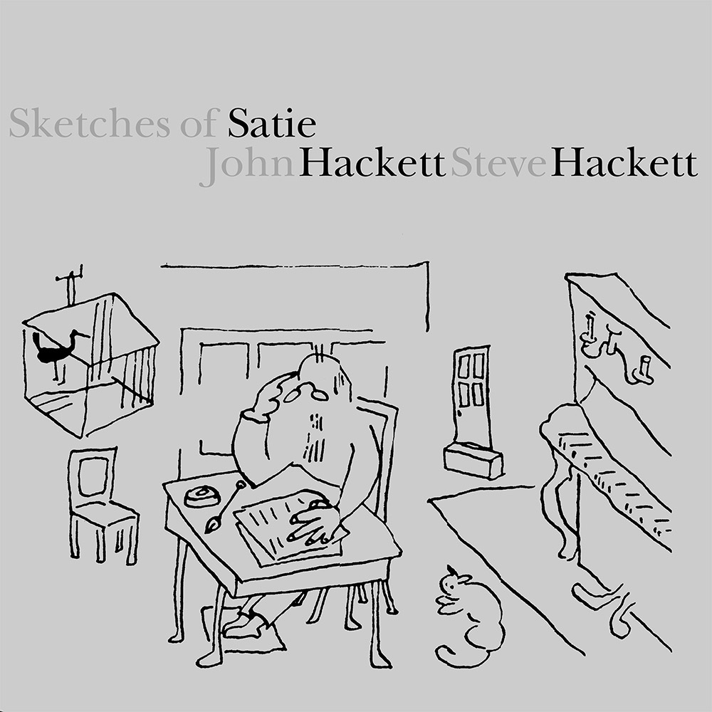 John Hackett Steve Hackett – Sketches of Satie (LP) cover