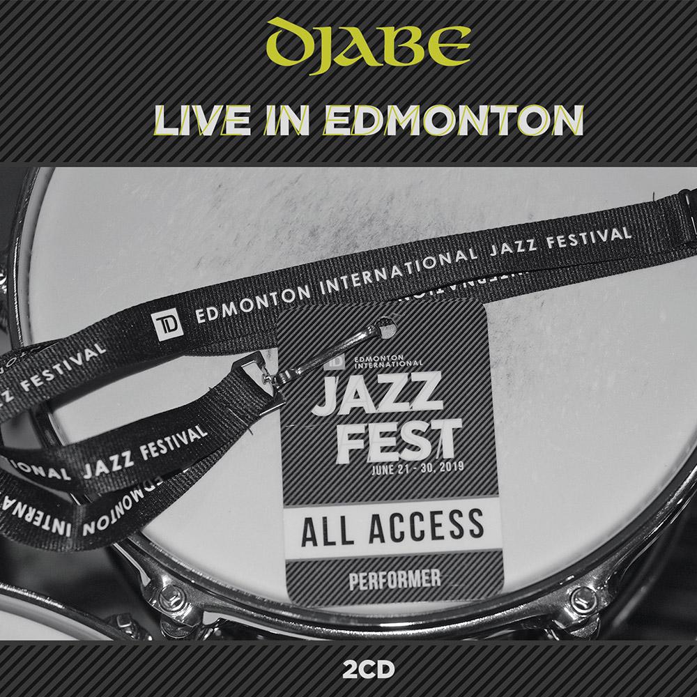 Djabe – Live In Edmonton (2CD) cover