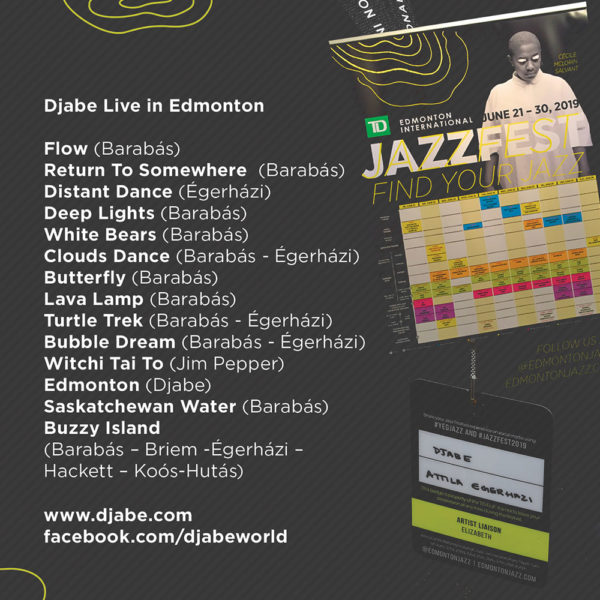 Djabe – Live In Edmonton (2CD) inner 2