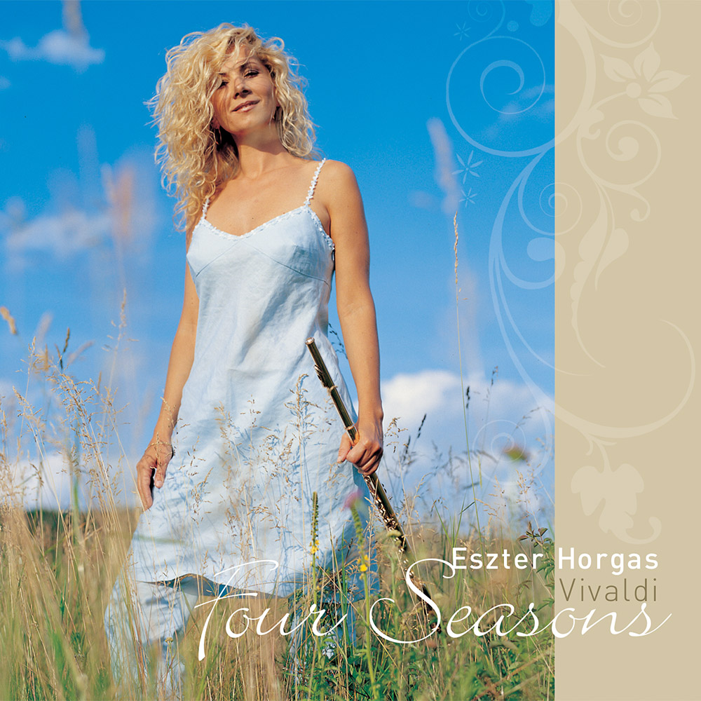 Horgas Eszter – Four Seasons (CD) cover