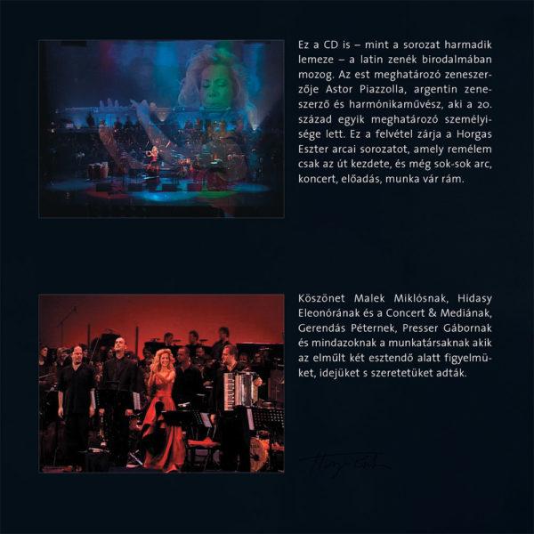 Horgas Eszter Arcai IV. – Latin Fiesta (CD) inner 1