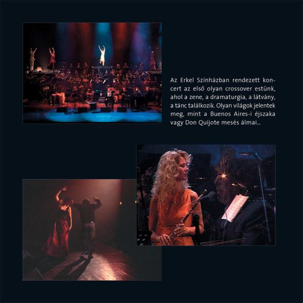 Horgas Eszter Arcai IV. – Latin Fiesta (CD) inner 2