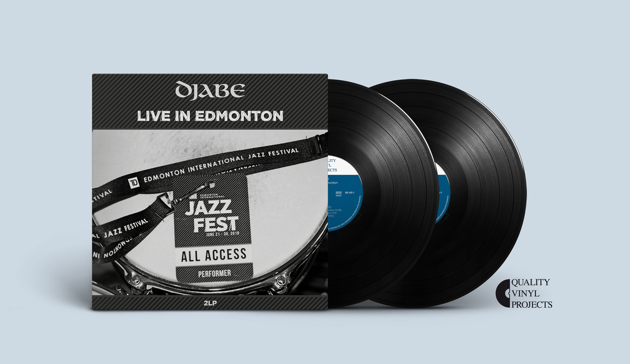Djabe Canadain live album available on double vinyl – Live in Edmonton