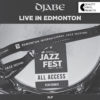 Djabe – Live In Edmonton (2LP) cover