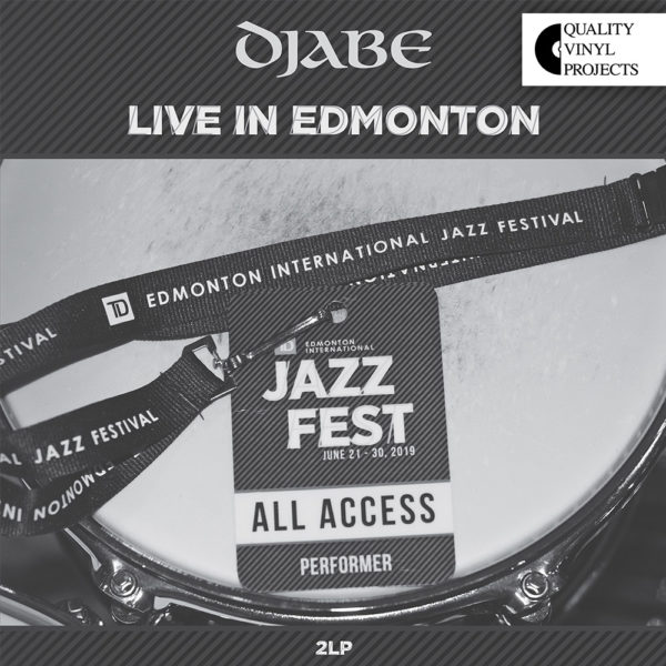 Djabe – Live In Edmonton (2LP) cover
