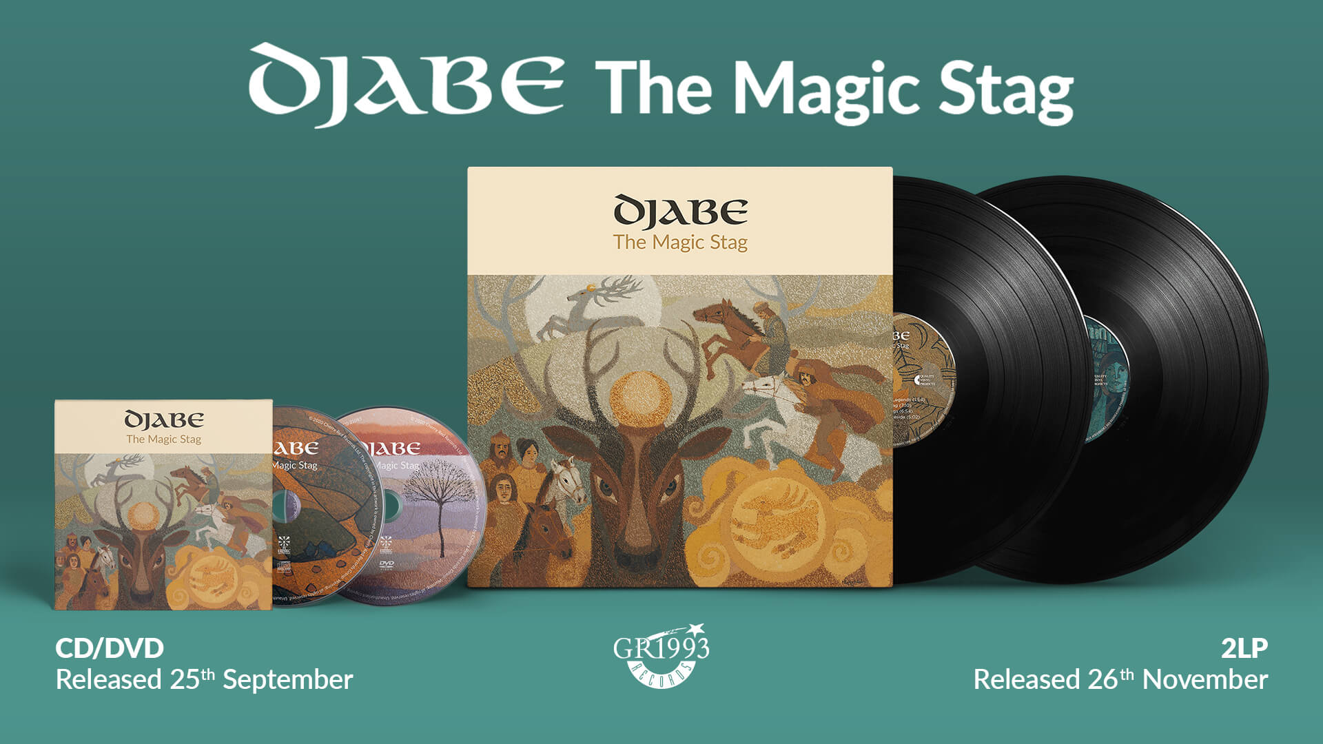 New Djabe album released inspired by paintings of Imre Égerházi