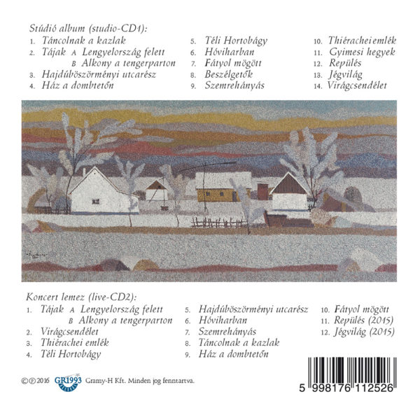 Djabe – Tancolnak A Kazlak Studio And Live (2CD) back cover