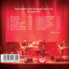 Djabe with Steve Hackett & Gulli Briem – It Is Never The Same Twice (CD+DVD) back cover