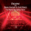 Djabe with Steve Hackett & Gulli Briem – It Is Never The Same Twice (CD+DVD) cover