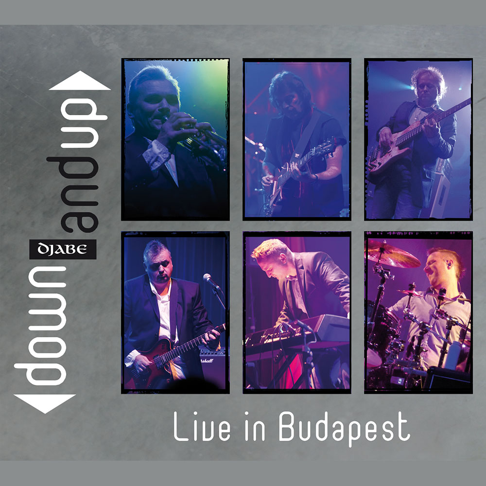 Djabe – Down and Up – Live in Budapest (DVD) cover