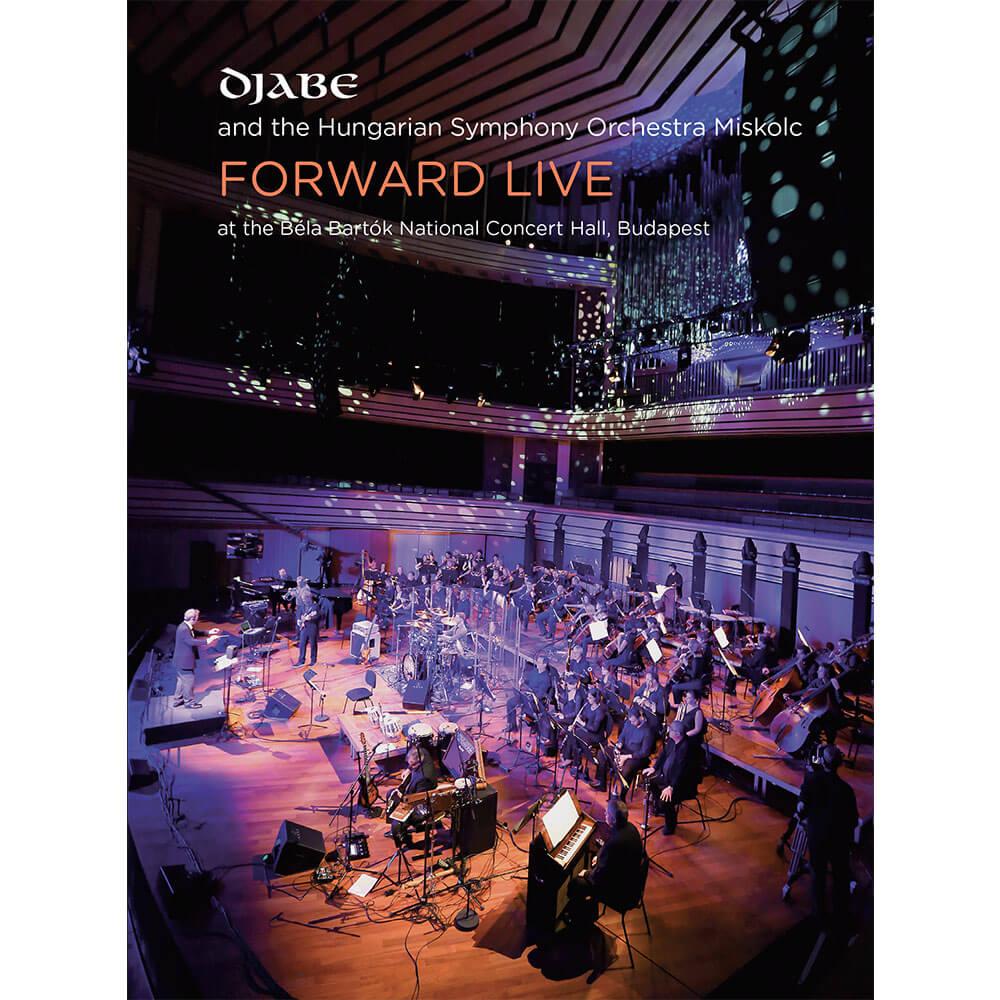 Djabe – Forward Live Mediabook (2CD+2DVD) cover