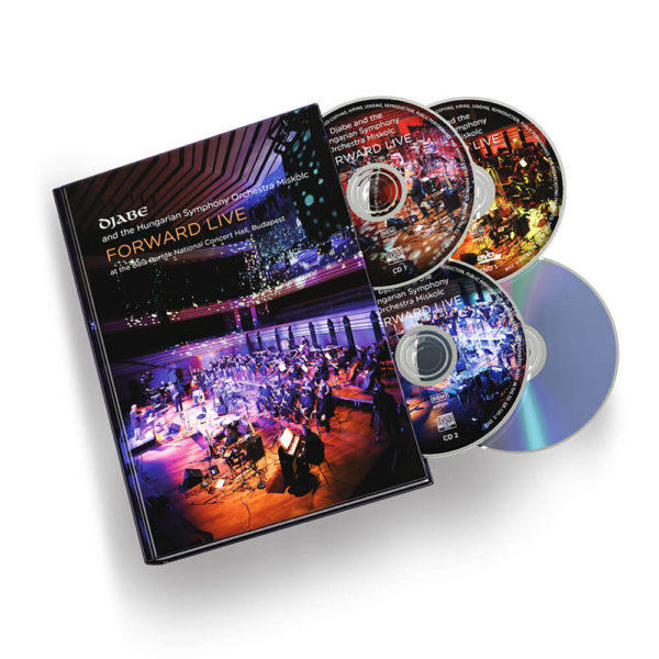 Djabe – Forward Live Mediabook (2CD+2DVD) mockup