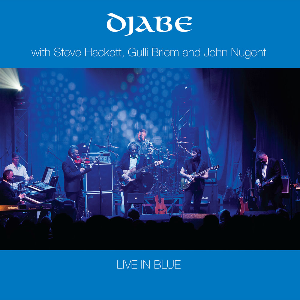 Djabe – Live in Blue (2CD) cover