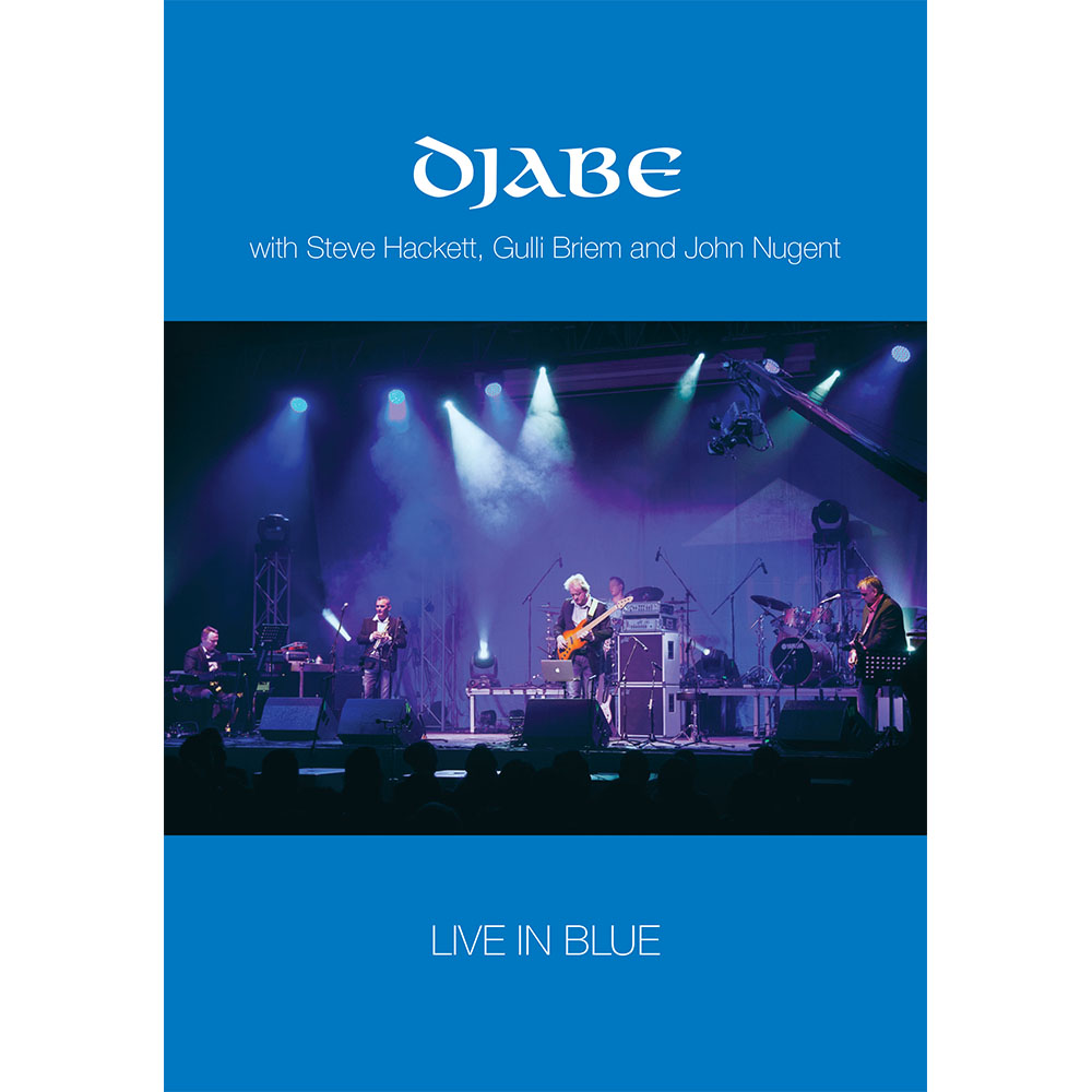 Djabe – Live in Blue (DVD) cover