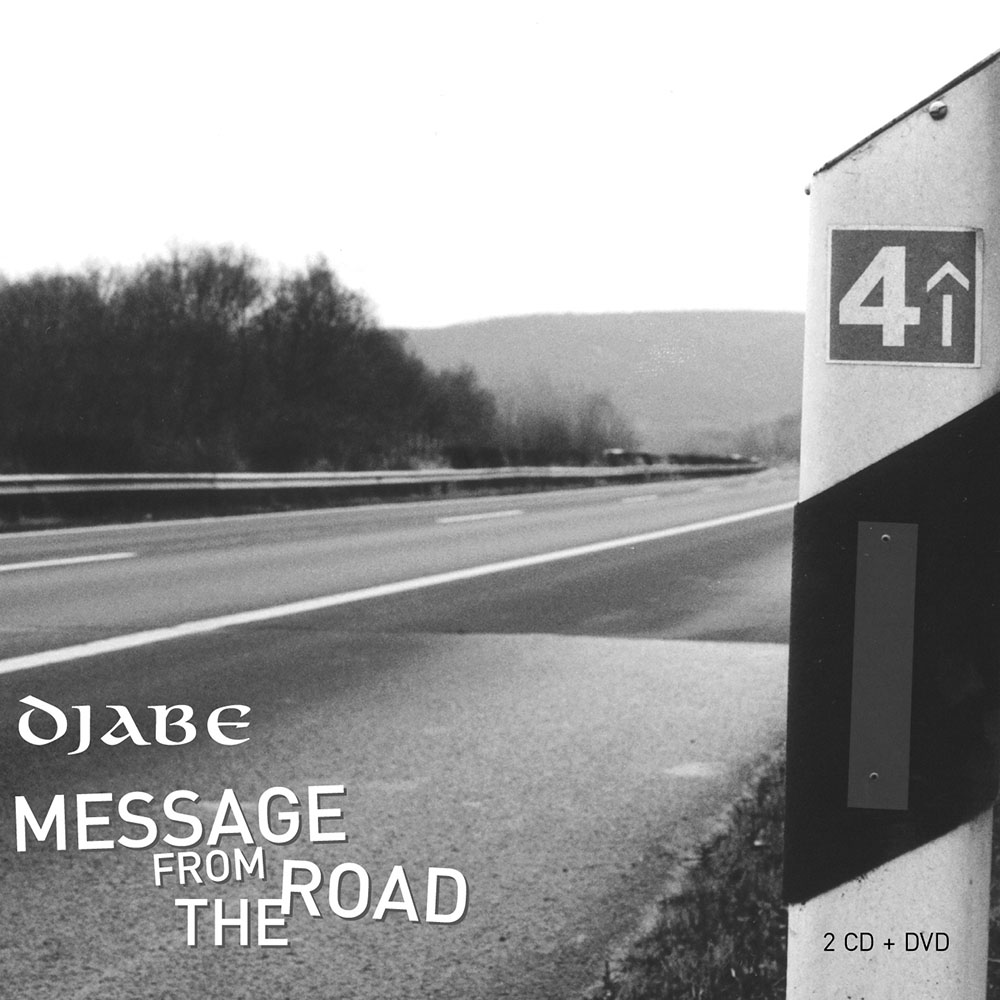 Djabe – Message from the Road (2CD + DVD) cover