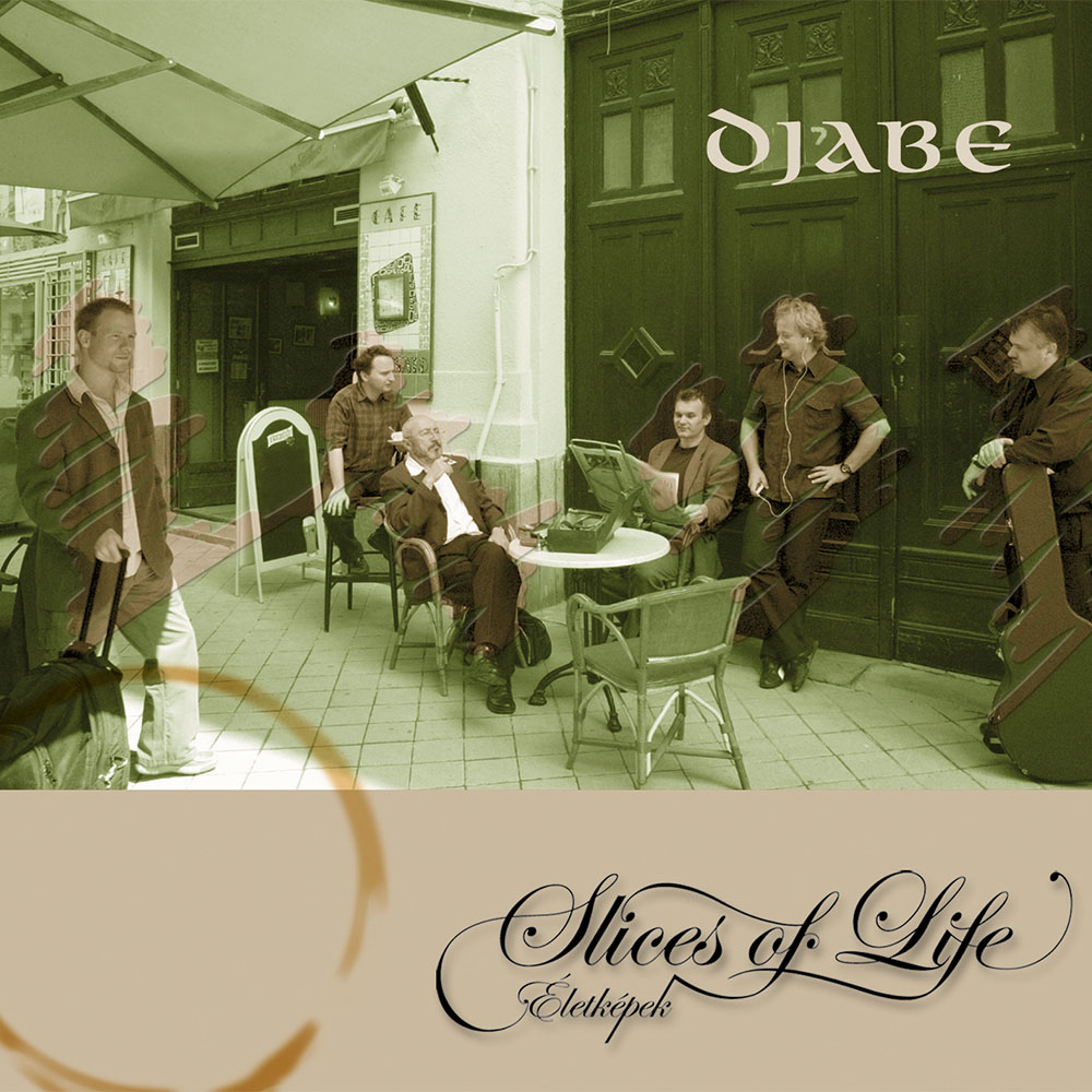 Djabe – Slices of Life (CD) cover