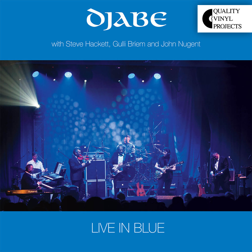 Djabe – Live in Blue LP Quality Vinyl Project Edition 2021 cover
