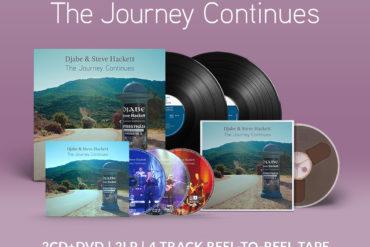 Új dupla koncert album – Djabe & Steve Hackett – The Journey Continues