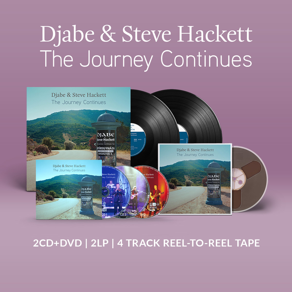 Djabe & Steve Hackett The Journey Continues