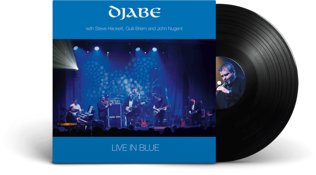 Djabe - Live in Blue LP (QVP Edition 2021)