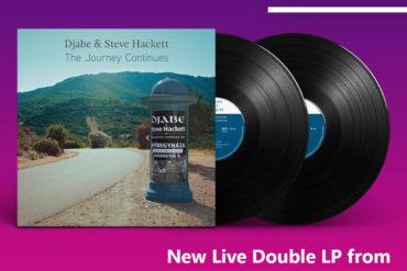 Megérkezett – Djabe & Steve Hackett – The Journey Continues (2LP)